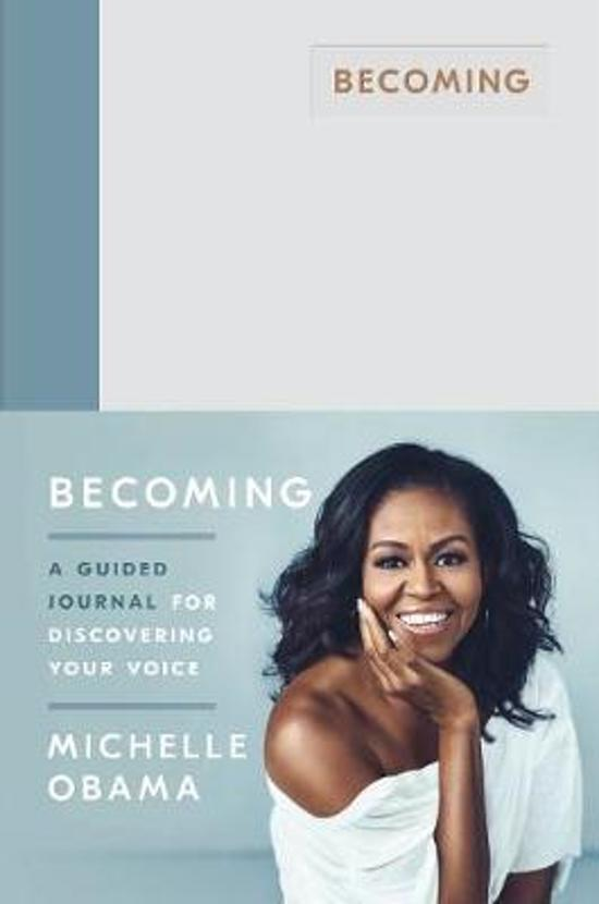 CD cover van Becoming: a guided journal for discovering your voice - Michelle Obama van Michelle Obama