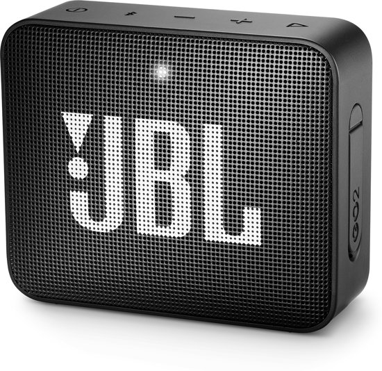 JBL Go 2 - Bluetooth Mini Speaker- Zwart