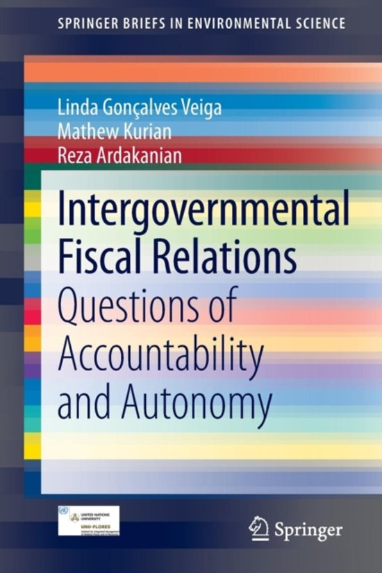 the role of fiscal federalism in intergovernmental relations Study of the federal role in the 2 intergovernmental relations are more pervasive, more unman- ageable, more ineffective more fiscal federalism in the 1980s.