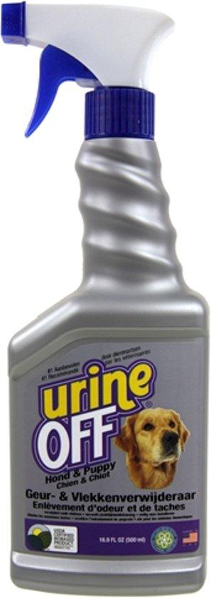 Anti urine spray voor honden