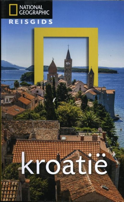 National Geographic Reisgids - Kroatië cover