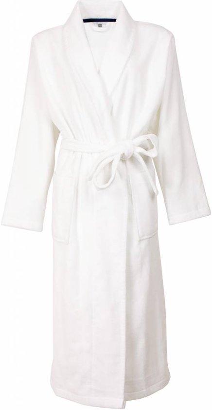 75895ab3c23 Sauna! Luxueuze sauna dames badjas van 100 % katoen in de kleur wit.Maat L