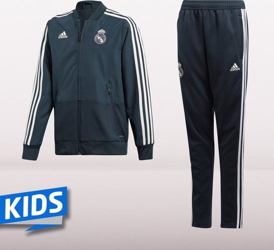 adidas Real Madrid Trainingspak 2018-2019 Junior - cw8637 - 152