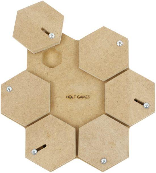 Holt games tortuga activiteitenspel hout 30x29,5x3,5 cm