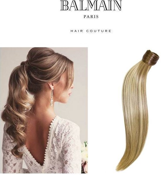 Balmain Catwalk Ponytail 55 cm.  steil, kleur NEW YORK,  Memory®hair