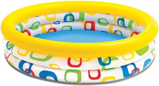 Intex COOL DOTS POOL, 3-Ring, Ages 2+