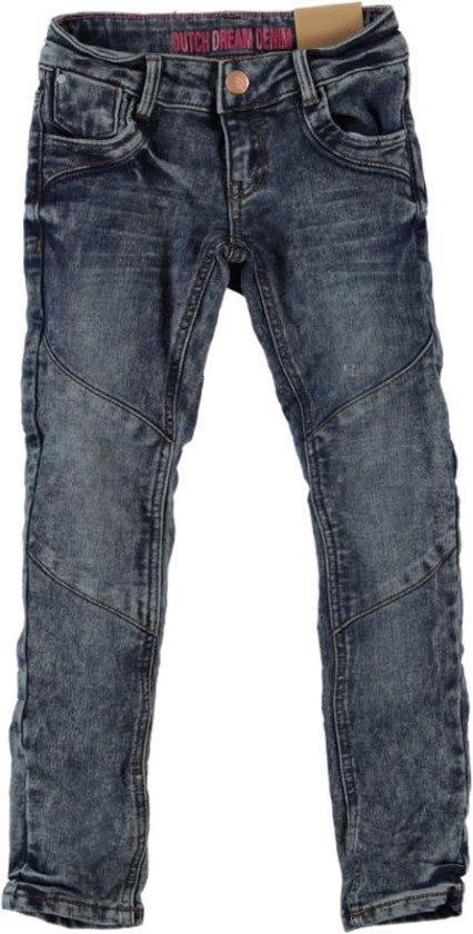 Maat 98 Spijker broek 34 Blauw Merk H&M   Broeken