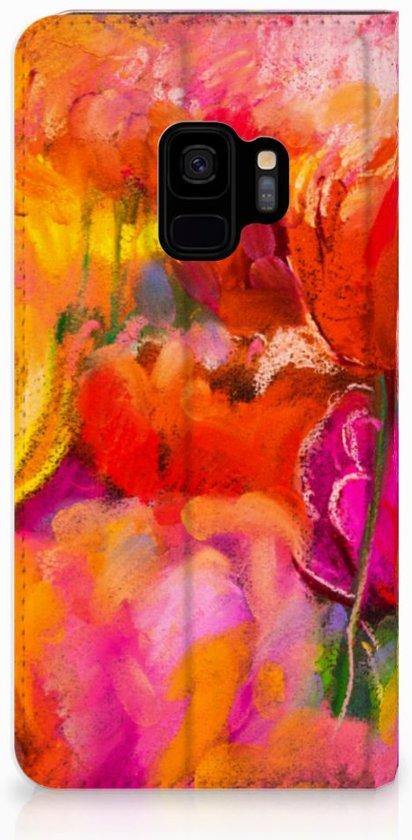 Telefoonhoesje Samsung Galaxy S9 Design Tulips