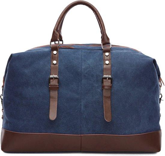 JR Algarve - weekendtas - reistas - handbagage (Blauw)