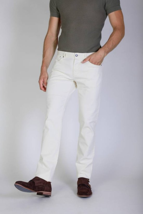 Heren Jeans van Jaggy - wit