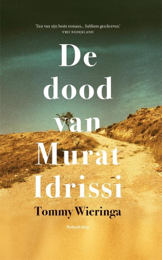 Boekomslag voor De dood van Murat Idrissi