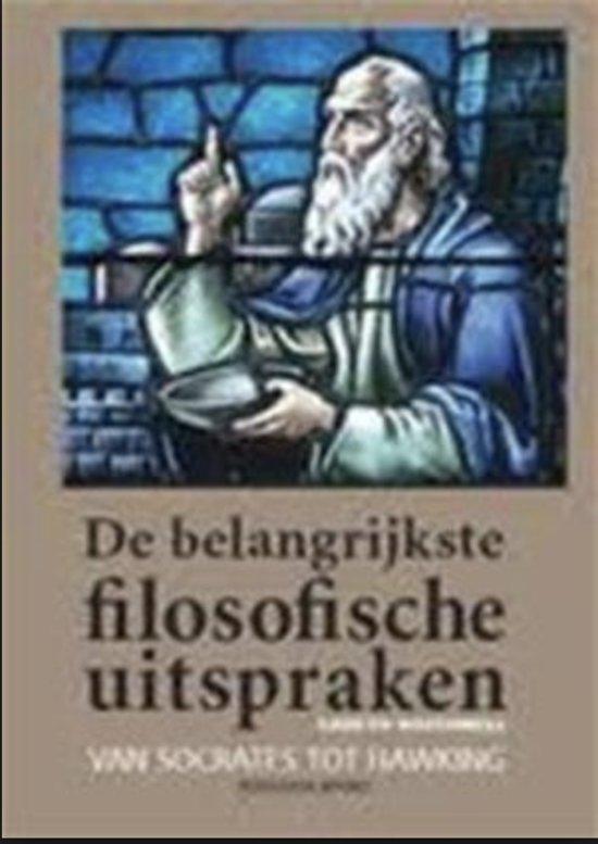 Bolcom De Belangrijkste Filosofische Uitspraken Gareth
