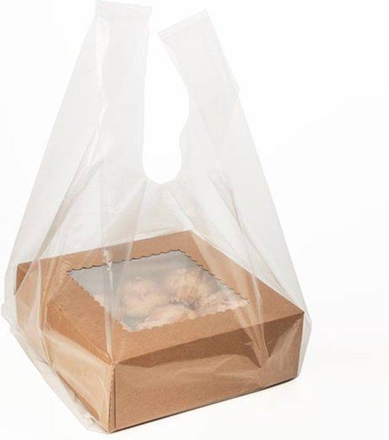 plastic draagtas transparant