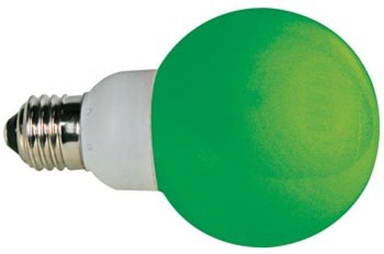 Groene Ledlamp - E27 - 230Vac - 20 Leds