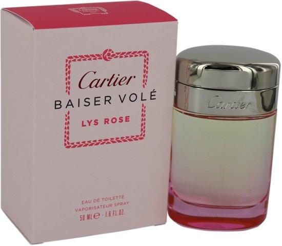 Cartier Baiser Vole Lys Rose Spray - 50 ml - Eau De Toilette