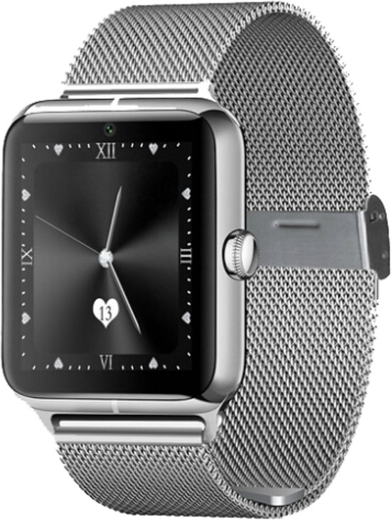 Smart Watch Android DexClassic Shiny Silver
