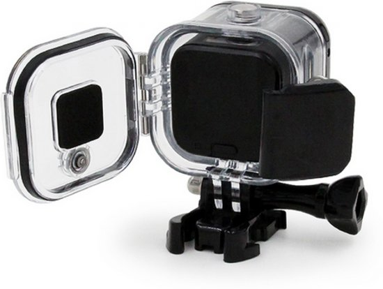 Waterproof case behuizing voor GoPro Session 4 en 5 camera / Tot 60m / Waterdicht