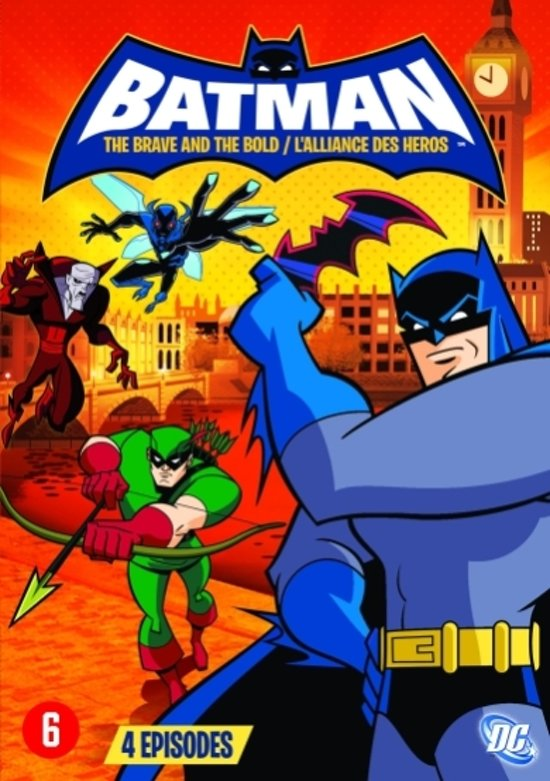Cover van de film 'Batman: The Brave And The Bold'