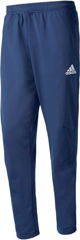 adidas Tiro17 PES Sportbroek - Maat XS - Mannen - blauw/wit