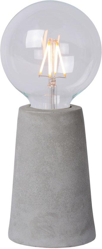 Lucide CONCRETE - Tafellamp - LED - E27 - 1x4W 2700K - Taupe