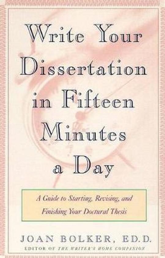 dissertation winning writing