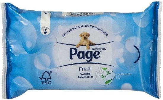 Page Vochtig Toiletpapier.Bol Com Page Fresh Vochtig Toiletpapier