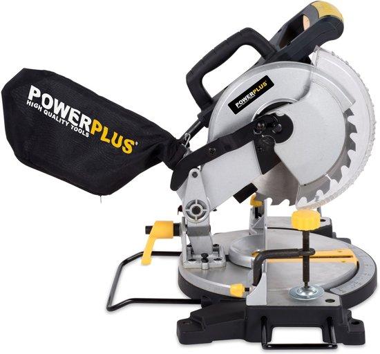 Powerplus POWX07554 Afkortzaag - 1500 W - 210 MM