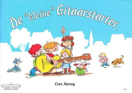 Boek cover De Kleine Gitaarstarter van Cees Hartog (Onbekend)