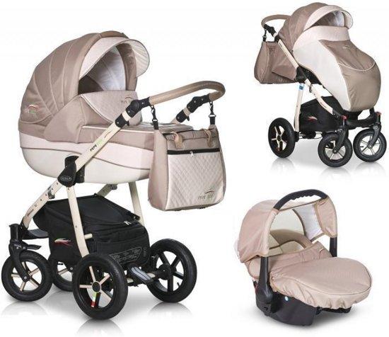 pepe eco 3 in 1 kinderwagen beige k16. Black Bedroom Furniture Sets. Home Design Ideas