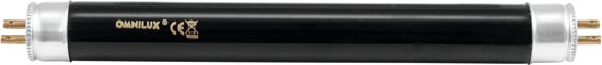 OMNILUX UV Tube 15W G13 438x26mm T8