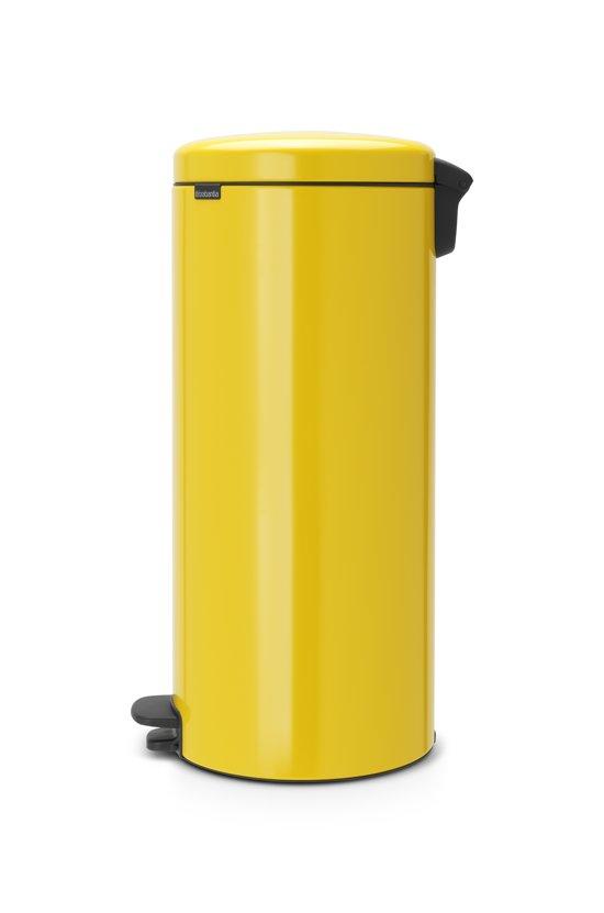 Brabantia NewIcon Pedaalemmer 30 Liter Geel