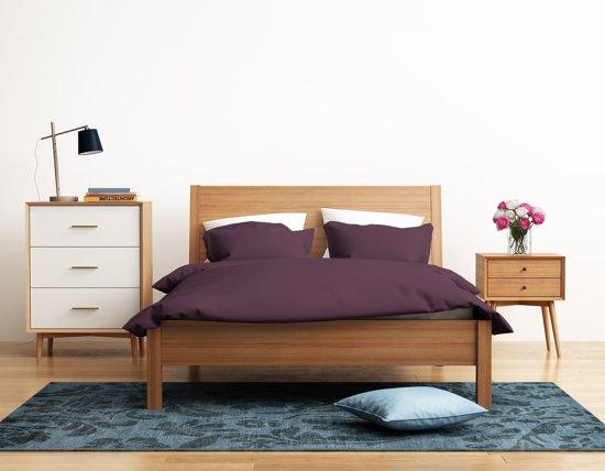 Luxe Paarse Slaapkamer : Bol luxe hotelkwaliteit dekbedovertrek eenpersoons x