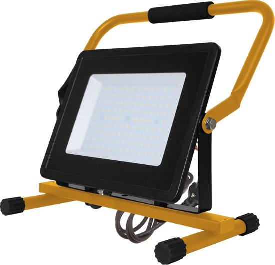 V-tac VT-42100  LED werkverlichting / bouwlamp - 100 W - 8500 Lumen - Zwart / geel