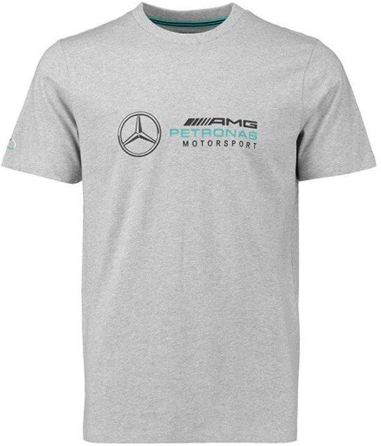 Mercedes F1 Logo T-shirt grijs XL