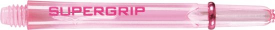 Harrows darts Supergrip nylon shaft roze medium 2ba 3 stuks