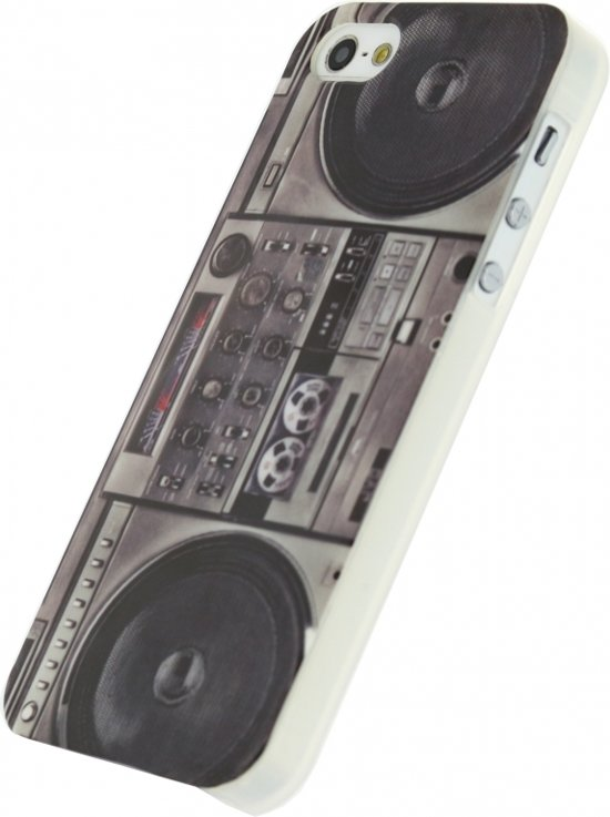 Xccess TPU Case Apple iPhone 5/5S Retro Radio