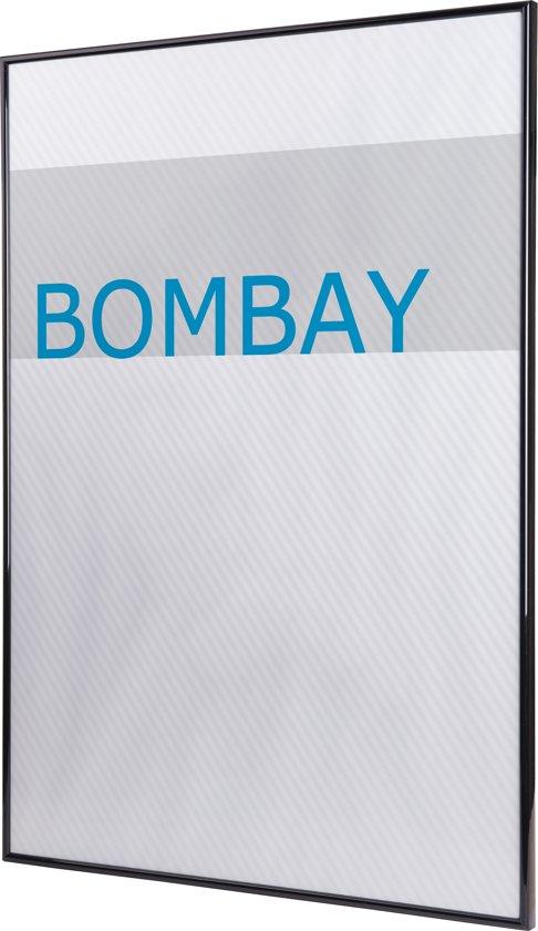 Lijst 100 X 70.Acaza Bombay Fotolijst 70x100 Plexiglas Kunststof Zwart