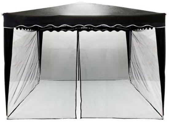 bol.com | Trend24 - Insectennet - 300 x 300 paviljoen - Zwart