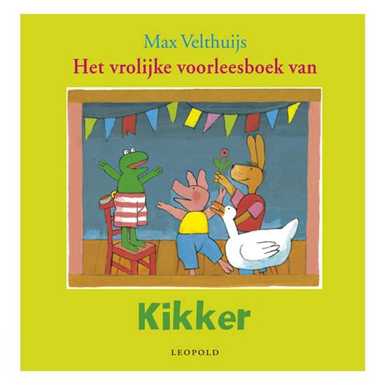 Boek cover Kikker - Vrolijke voorleesboek van Kikker van Max Velthuijs (Hardcover)