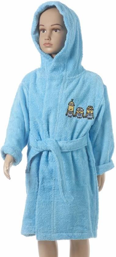 Minions Sponge - Badjas - 2/4 jaar - Blauw