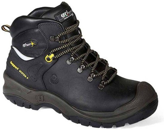 Werkschoenen S3.Bol Com Grisport 70416 Var 82 Werkschoenen S3 Maat 46 Zwart