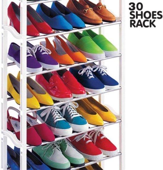 Schoenenkast 20 Paar Schoenen.ᐅ Schoenenrek Schoenenkast Voor 20 Paar Schoenen Opbergen