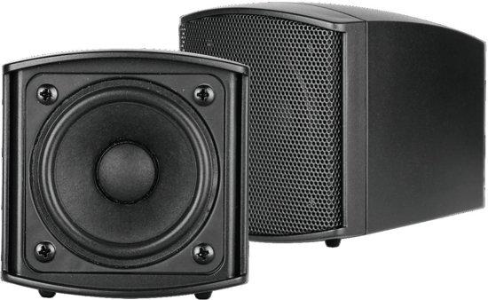 OMNITRONIC OD-2T Wall Speaker 100V black 2x