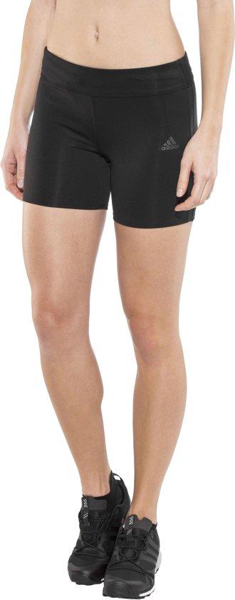 adidas Response Hardloop Shorts Dames zwart Maat L