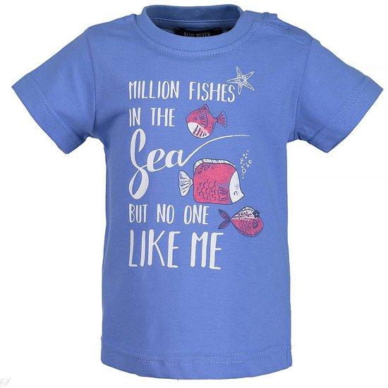 Blue Seven - T-shirt Ocean Princess   -  Maat  74