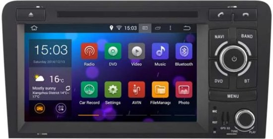 Wonderbaar bol.com | radio navigatie passend op Audi A3 radio navigatie IR-14