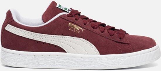 Puma Classic Suede sneakers bordeauxrood - Maat 37