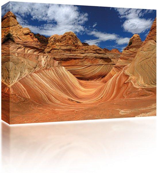 Sound Art Canvas + Bluetooth Speaker Desert Rocks