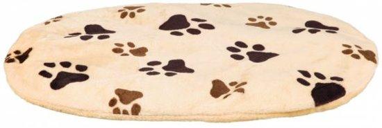 Trixie hondenkussen joey ovaal beige poot 105x68 cm