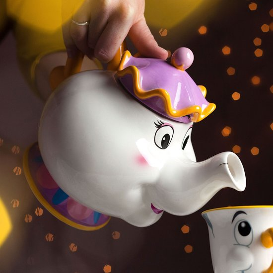 Bolcom Beauty And The Beast Mrs Potts Tea Pot